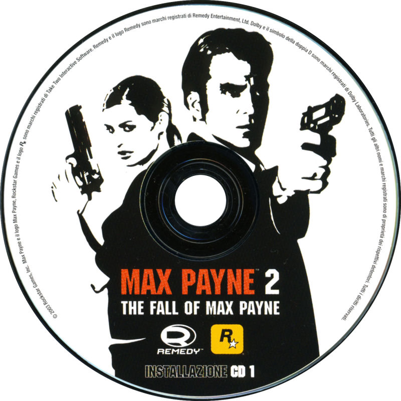 Max Payne 2: The Fall of Max Payne Windows Media Install Disc 1