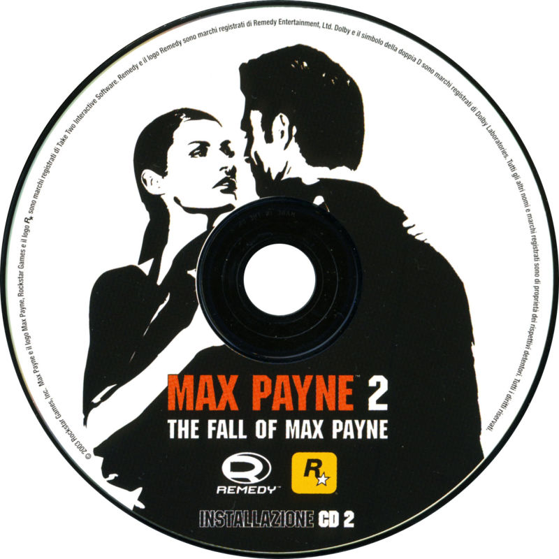 Max Payne 2: The Fall of Max Payne Windows Media Install Disc 2