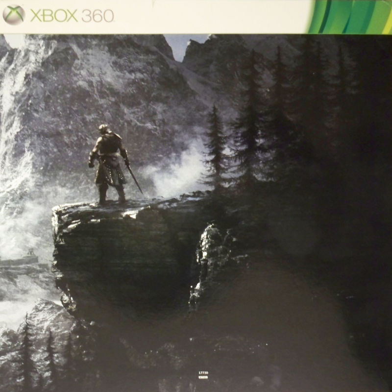 The Elder Scrolls V: Skyrim (Collector's Edition) Xbox 360 Other Right side of panoramic image