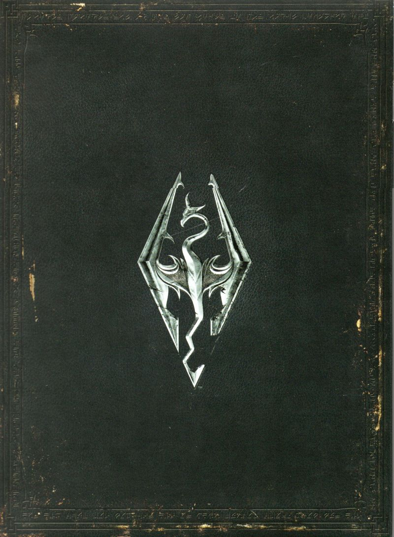 The Elder Scrolls V: Skyrim (Collector's Edition) Xbox 360 Other Cardboard Sleeve - Inside