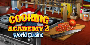 Cooking Academy 2: World Cuisine Macintosh Front Cover