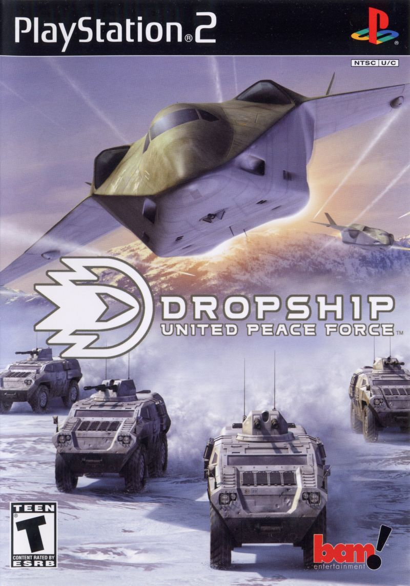Dropship: United Peace Force PlayStation 2 Front Cover