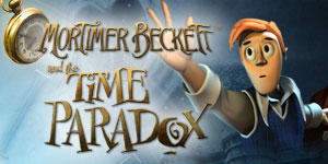 Mortimer Beckett and the Time Paradox Windows Front Cover
