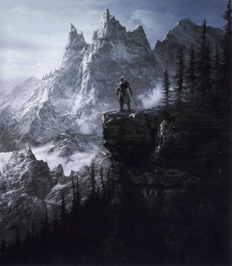 The Elder Scrolls V: Skyrim PlayStation 3 Inside Cover Right