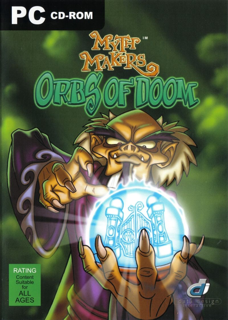 Myth Makers: Orbs of Doom Windows Front Cover