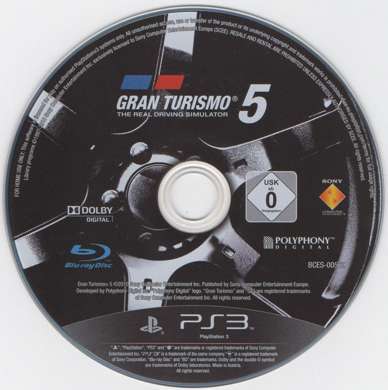 Gran Turismo 5 (Signature Edition) PlayStation 3 Media