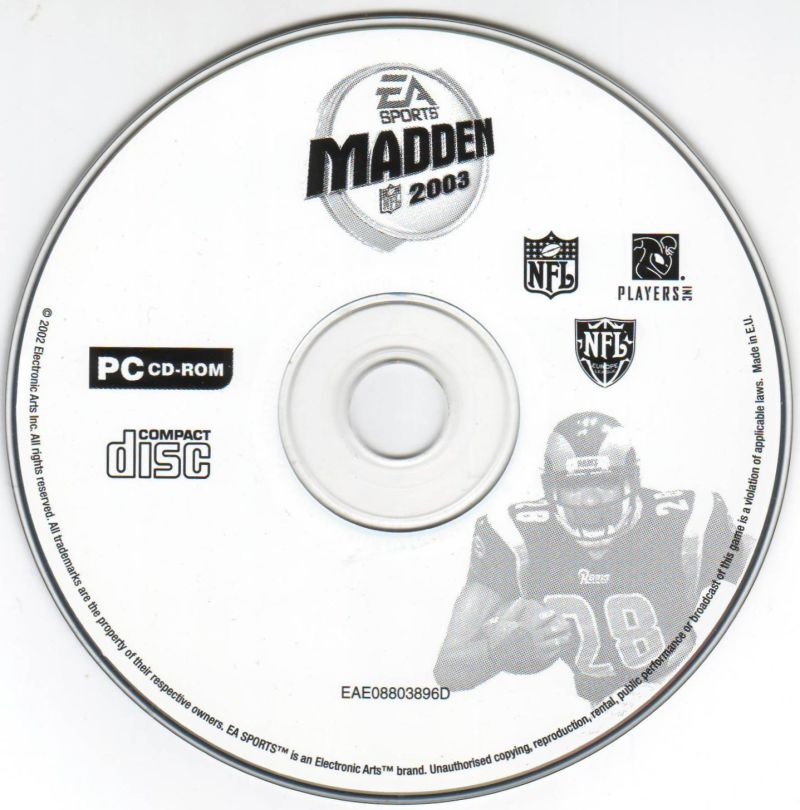 Madden NFL 2003 Windows Media