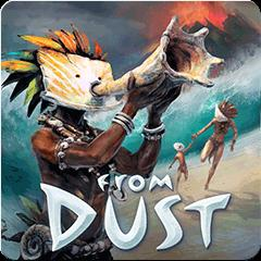 From Dust PlayStation 3 Front Cover