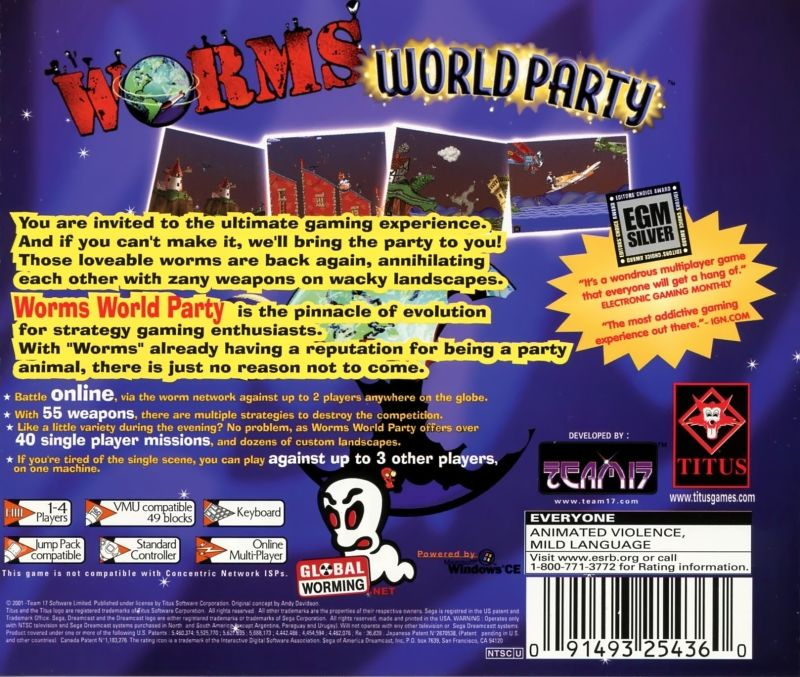 worm in the world