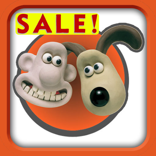 Wallace & Gromit in The Last Resort iPad Front Cover
