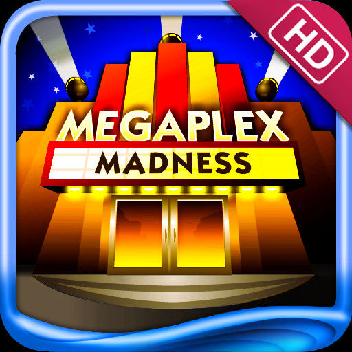 Megaplex Madness: Now Playing iPad Front Cover