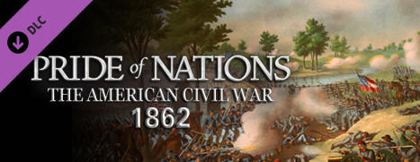 Pride of Nations: The American Civil War 1862 Windows Front Cover