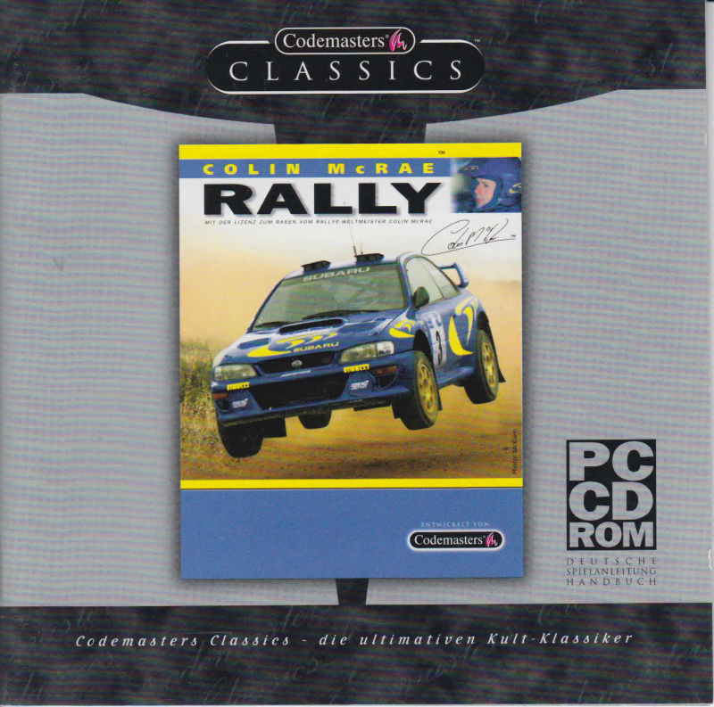 Colin McRae Rally Windows Other Jewel Case Front