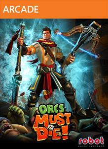 Orcs Must Die! Xbox 360 Front Cover second version
