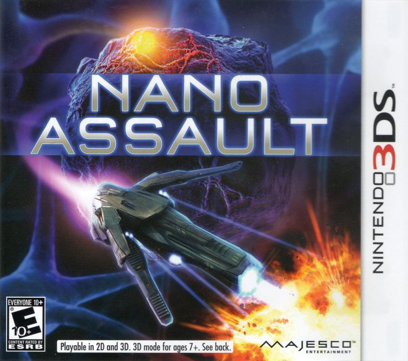 Nano Assault Nintendo 3DS Front Cover