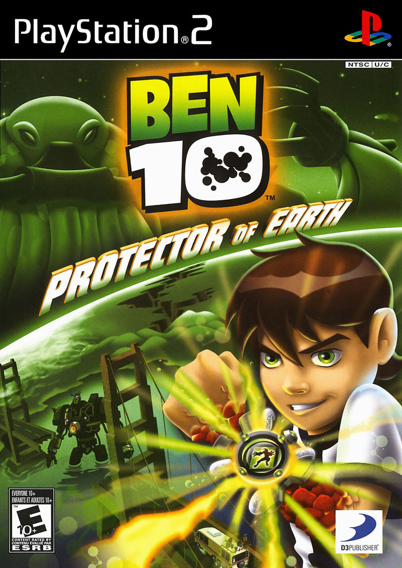 Ben 10 protector of earth for playstation 2 ps2 passion for games.