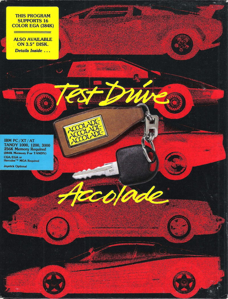 Test Drive DOS Front Cover