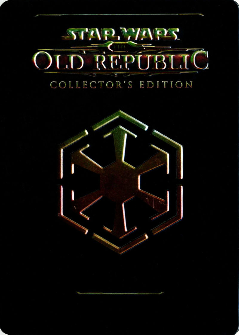 Star Wars: The Old Republic (Collector's Edition) Windows Other Metal Case - Front