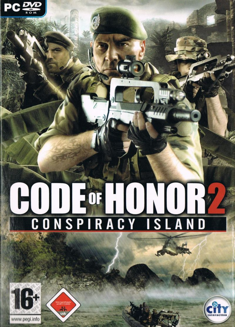 Code of Honor 2: Conspiracy Island Windows Front Cover