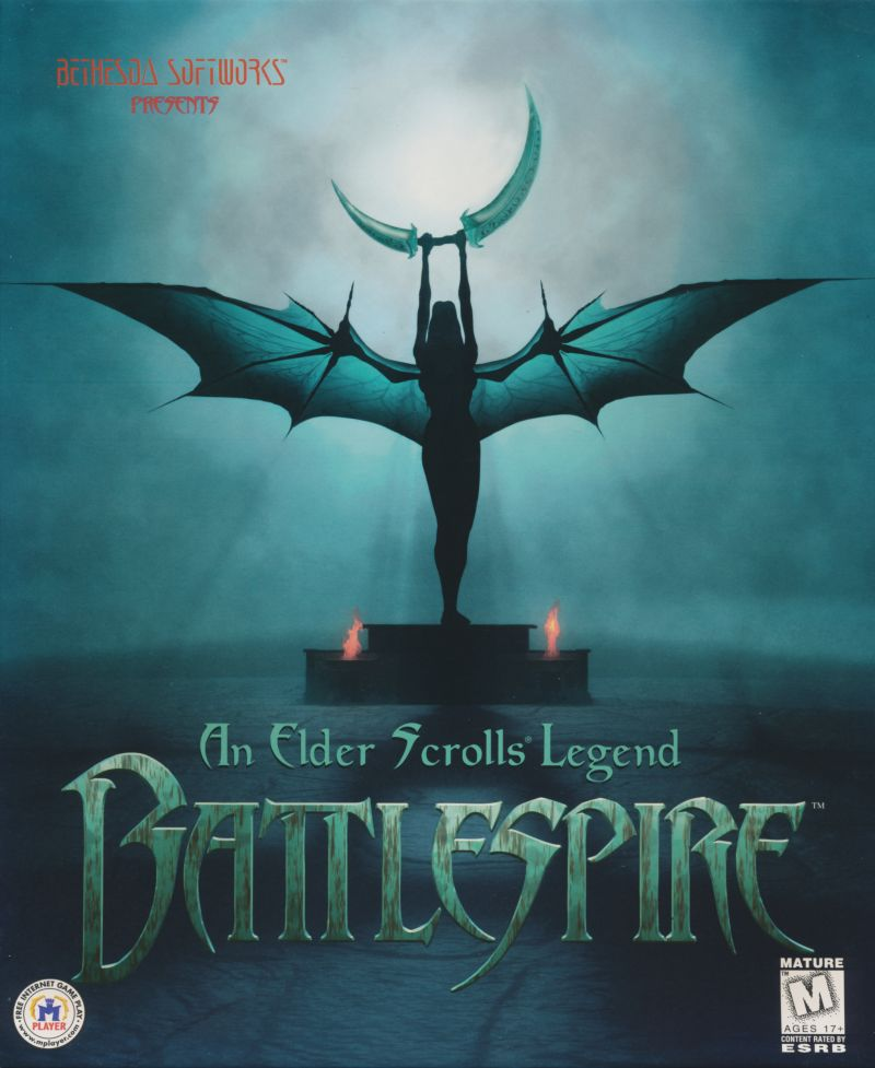 An Elder Scrolls Legend: Battlespire DOS Front Cover