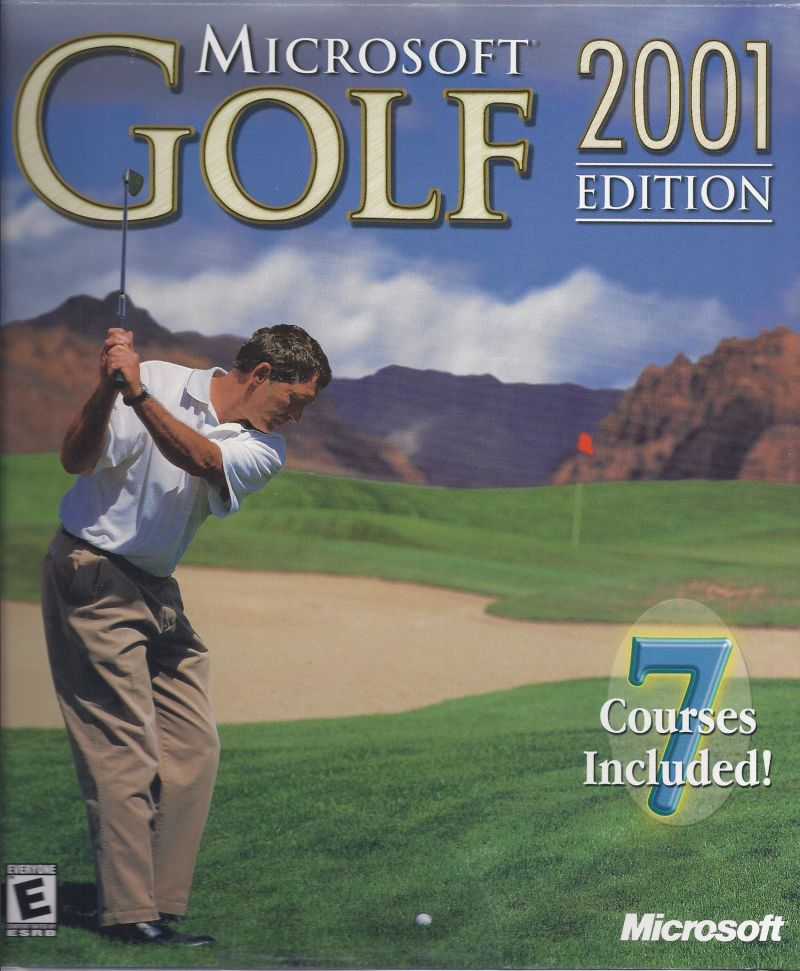 Microsoft Golf 2001 Edition Windows Front Cover