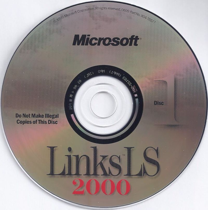 Links LS 2000 Windows Media Disc 1