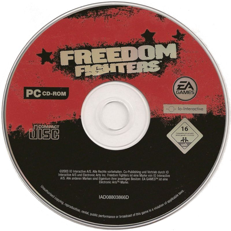 Freedom Fighters Windows Media