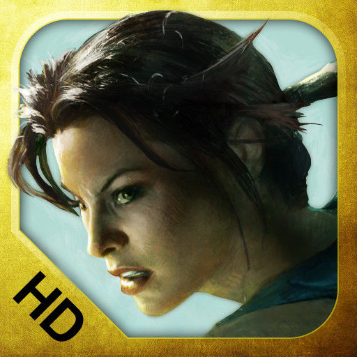 Lara Croft and the Guardian of Light iPad Front Cover