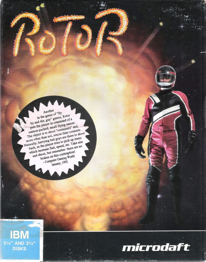 Rotor DOS Front Cover