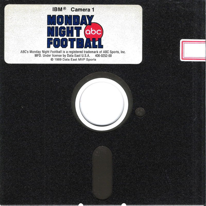 ABC Monday Night Football DOS Media Disk (1/6)