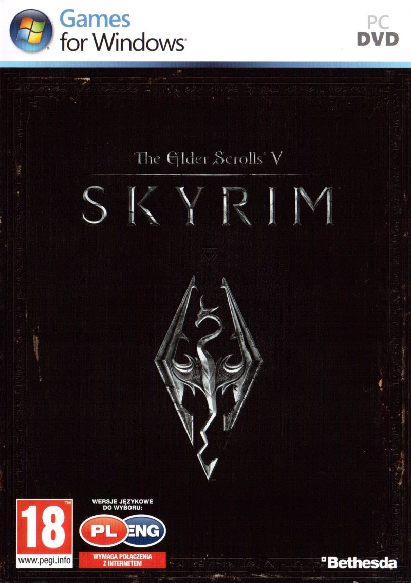The Elder Scrolls V: Skyrim Windows Other Keep case - front