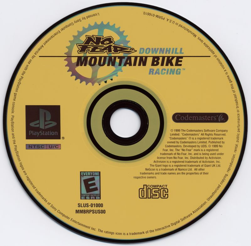 No Fear Downhill Mountain Bike Racing PlayStation Media