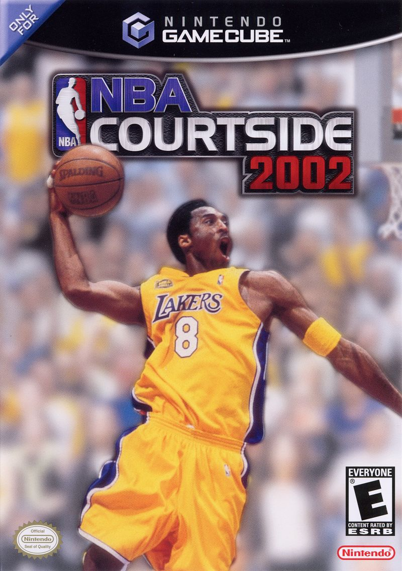 NBA Courtside 2002 GameCube Front Cover