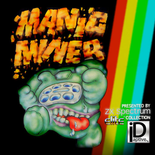 Manic Miner iPhone Front Cover