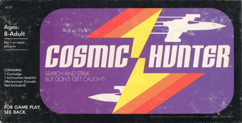 Cosmic Hunter Microvision Front Cover