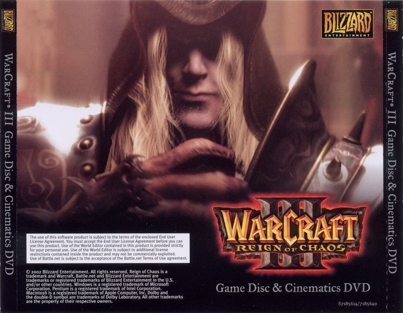 WarCraft III: Reign of Chaos (Exclusive Gift Set) Macintosh Other Jewel Case - Back