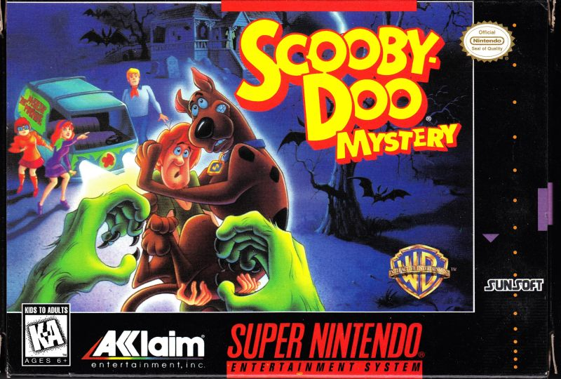 Scooby-Doo Mystery for SNES (1995) - MobyGames