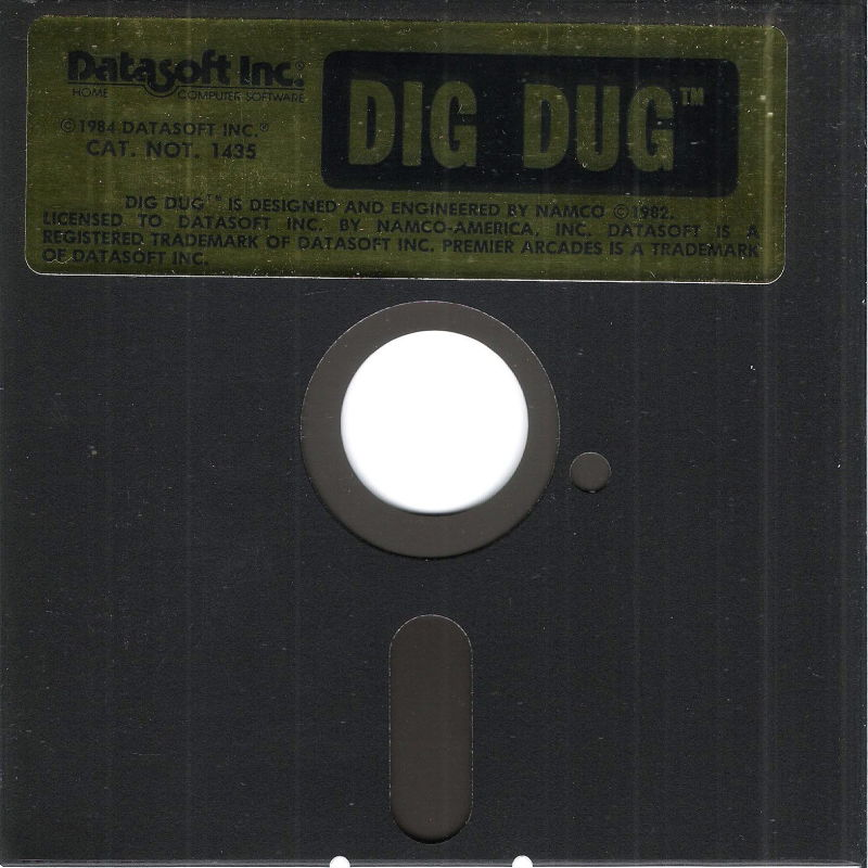 Dig Dug PC Booter Media