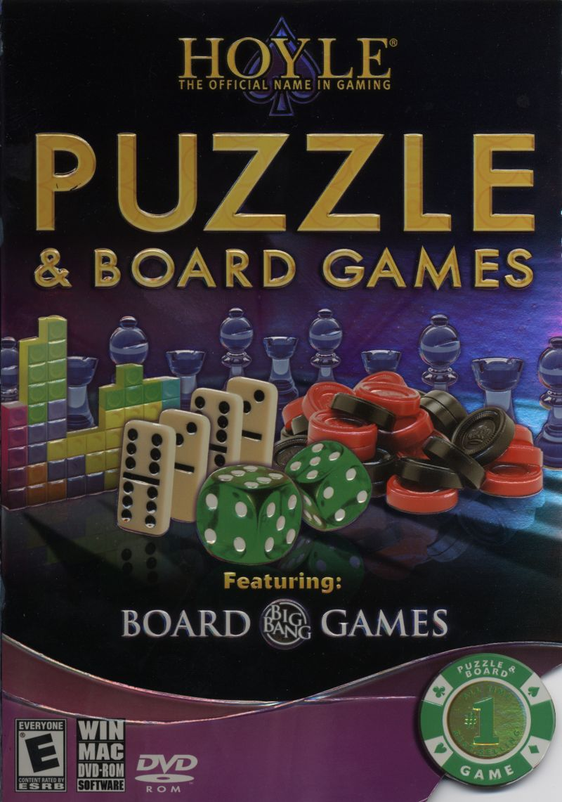 Hoyle Puzzle & Board Games Macintosh Front Cover