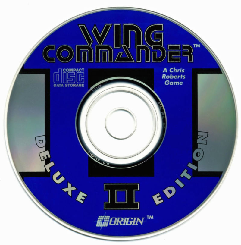 Wing Commander II: Deluxe Edition DOS Media