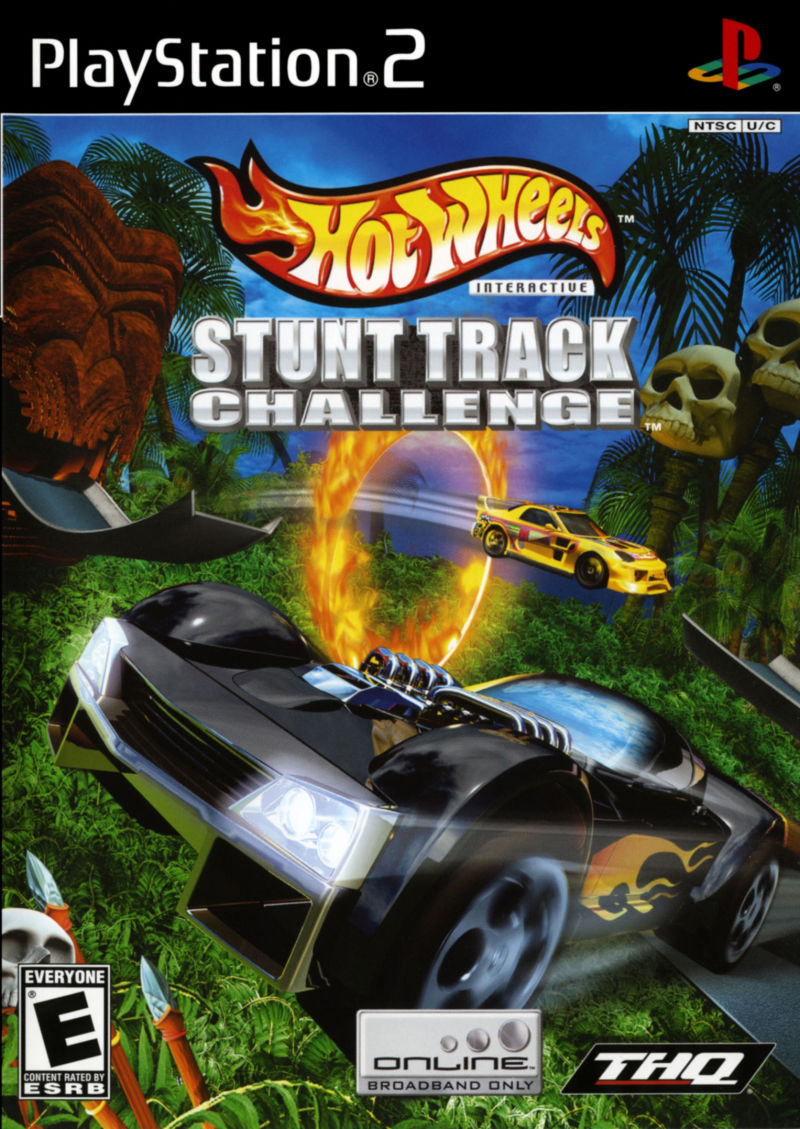Hot Wheels: Stunt Track Challenge PlayStation 2 Front Cover