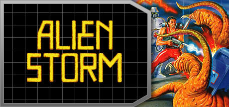 Alien Storm Windows Front Cover