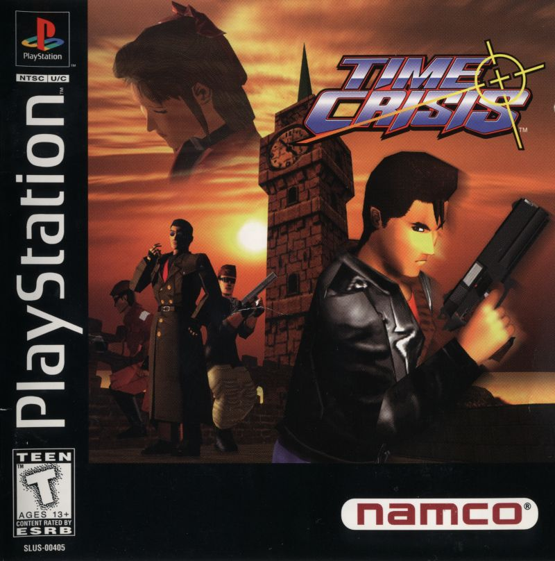Time Crisis PlayStation Front Cover