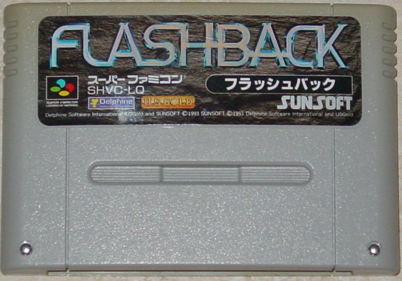 Flashback: The Quest for Identity SNES Media