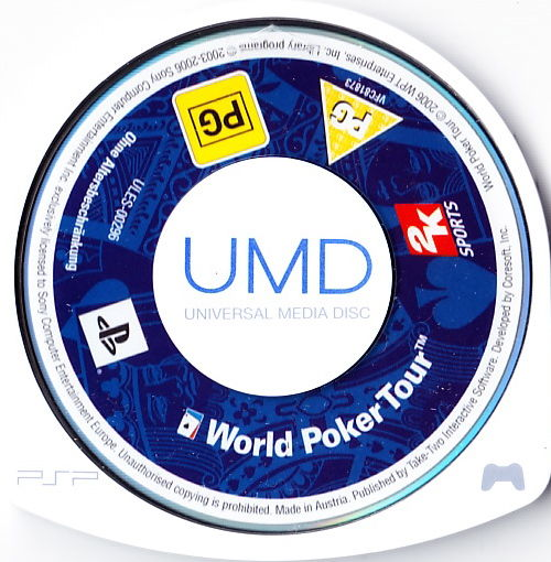 World Poker Tour PSP Media