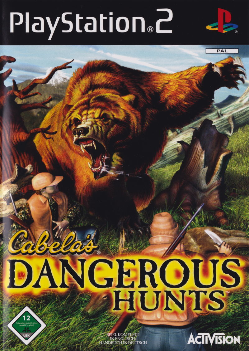 Cabela's Dangerous Hunts PlayStation 2 Front Cover
