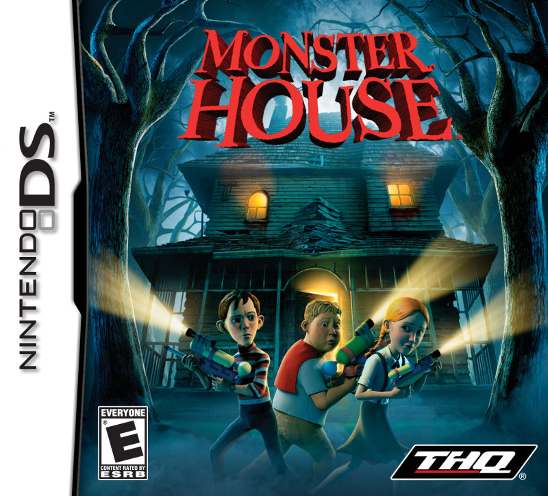 Monster House Nintendo DS Front Cover