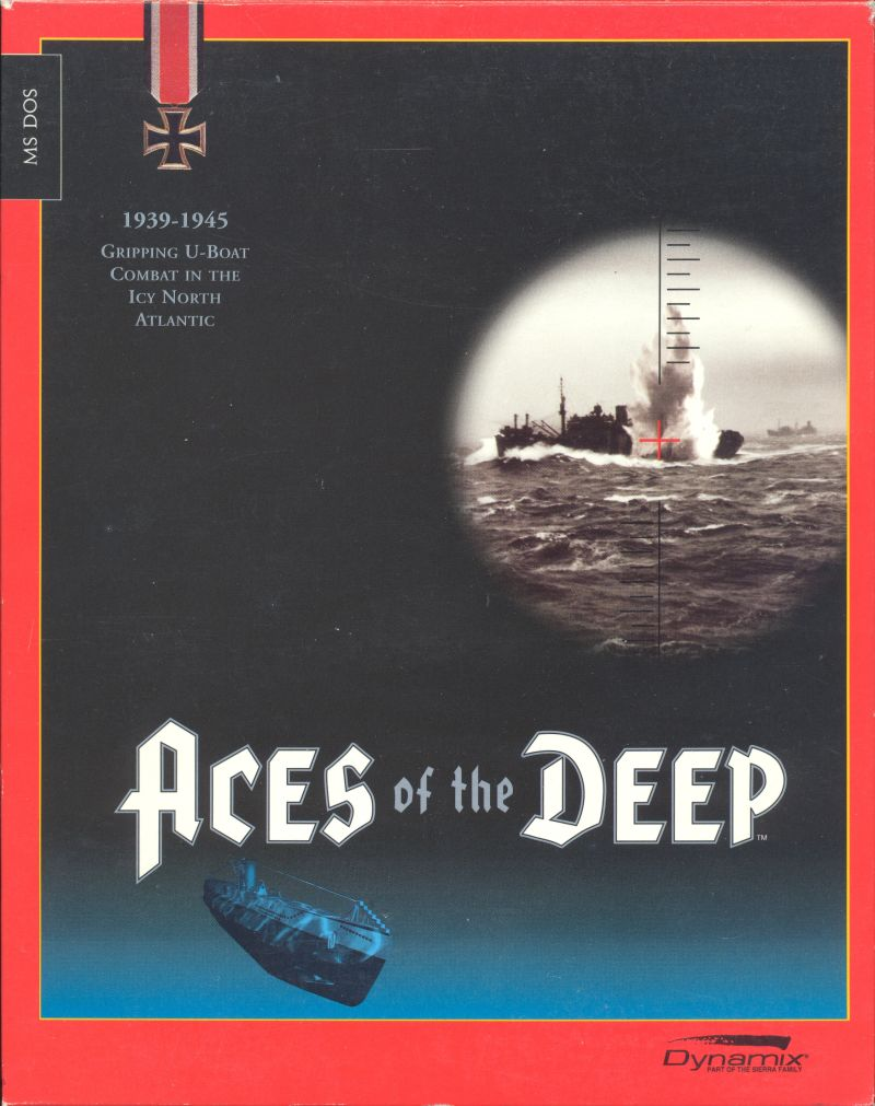 Aces of the Deep DOS Front Cover