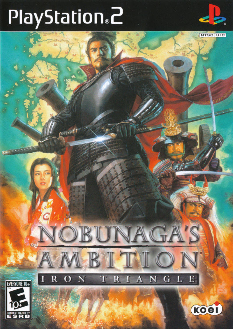 Nobunaga's Ambition: Iron Triangle PlayStation 2 Front Cover