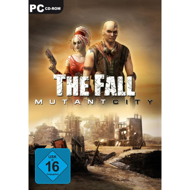 The Fall: Mutant City Windows Front Cover Amazon.de release